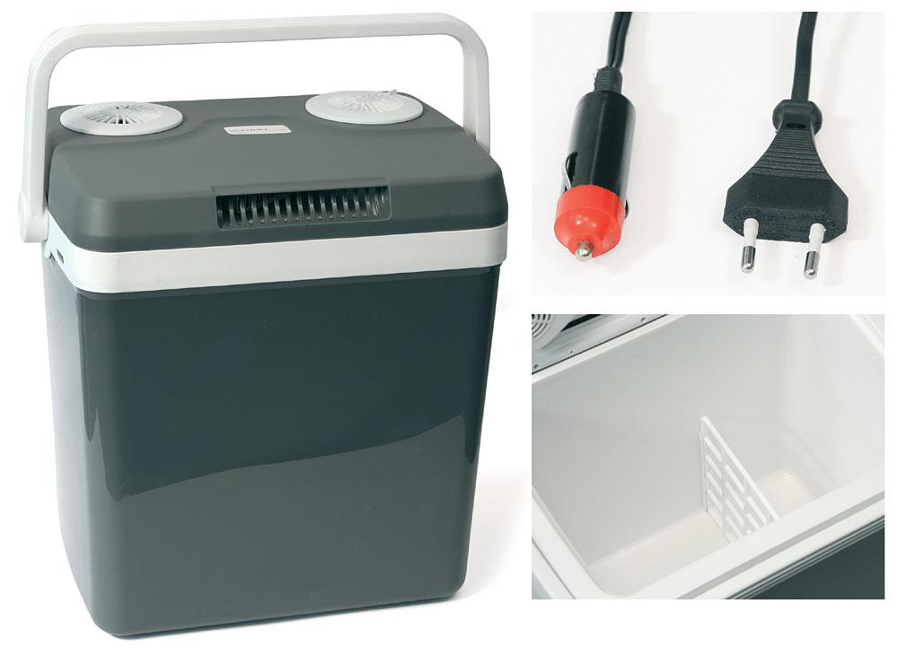 Kühlschrank Auto Zigarettenanzünder : Thermoelektrische kühlbox 12v 230v u2022 32l dino kraftpaket
