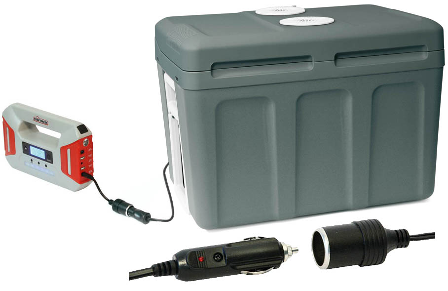 Auto Kühlschrank Mit Akku : Thermoelektrische kühlbox 12v 230v u2022 40l dino kraftpaket
