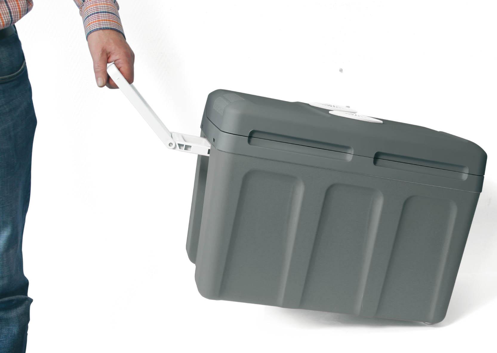 Kühlschrank Auto Zigarettenanzünder : Thermoelektrische kühlbox 12v 230v u2022 40l dino kraftpaket