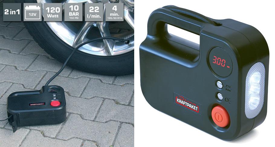 kompressor 12v 120 watt dino kraftpaket. Black Bedroom Furniture Sets. Home Design Ideas